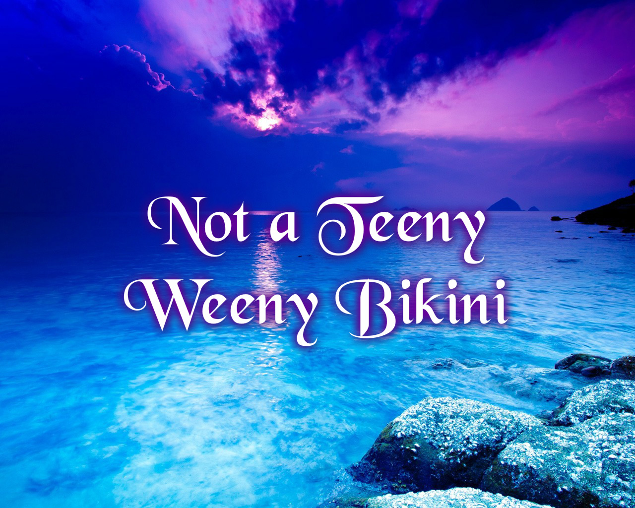 250ff2bde8d Not a Teeny Weeny Bikini – Beauty Confessions of An Avon Lady